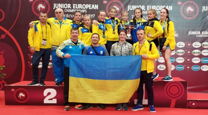 Женская молодежная сборная Украины – вторая на чемпионате Европы